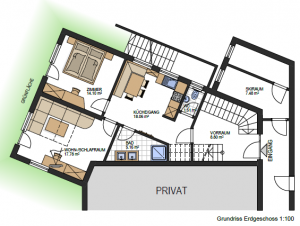 Floor Plan Apartment Vinschgau